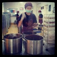 Photo taken at Cokelat Monggo Factory by Maria S. on 4/2/2013