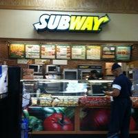 Photo taken at Subway by James M. on 1/12/2013