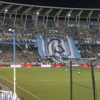 Photo taken at Estadio Juan Domingo Perón (Racing Club) by Diego V. on 1/12/2013
