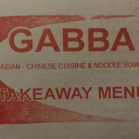 Photo taken at Gabba Chinese & Noodles by T on 1/20/2013