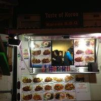 Photo taken at Taste Of Korea by Jennifer H. on 5/26/2013