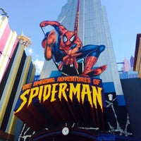 Photo taken at Marvel Superhero Island Arcade by Renata G. on 10/16/2014