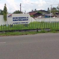 Photo taken at PT. KERETA API INDONESIA (Persero) Divre II Sumbar by Sherli T. on 4/2/2013