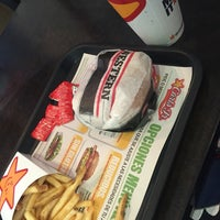 Photo taken at Carl's Jr by Laura L. on 4/12/2016