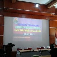 Photo taken at SMK Negeri 4 Malang by Ratna S. on 11/17/2013