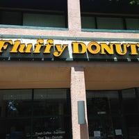 Photo taken at Fluffy Donuts & Sandwich Shop by Karen on 7/4/2013