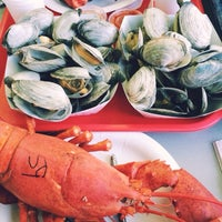 Photo taken at Trenton Bridge Lobster Pound by Jeanie J. on 8/22/2014