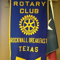 Photo taken at Rockwall Breakfast Rotary Club by Johnny T. on 3/19/2013