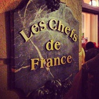 Photo taken at Chefs de France by Jefferson N. on 12/8/2012