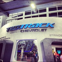 Photo taken at Test Track Presented by Chevrolet by Jefferson N. on 12/7/2012