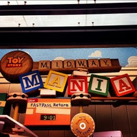 Photo taken at Toy Story Mania! by Jefferson N. on 12/9/2012