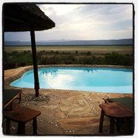 Photo taken at Manyara Wildlife Safari Camp by Lina B. on 2/20/2014