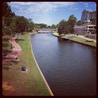 Photo taken at Riverside walk by Marion C. on 12/20/2012