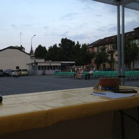 Photo taken at Piazza Atzei by Leila B. on 7/27/2013