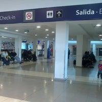 Photo taken at Aeropuerto Internacional de Río Grande - Gobernador Ramón Trejo Noel (RGA) by Edson R. on 12/6/2012