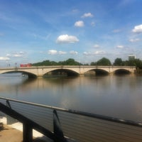 Photo taken at Putney Wharf by Gen A. on 8/20/2013