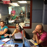 Photo taken at Genesis 98.1 FM by Carlos G. on 8/24/2013