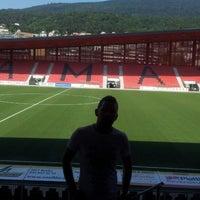 Photo taken at Stade de la Maladiere by Miroslav M. on 8/31/2013