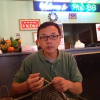 Photo taken at Pho 88 (Pho Hoa Hiep) by Mike K. on 8/18/2013