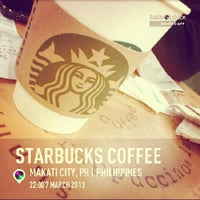 Photo taken at Starbucks Coffee by Louie S. on 3/7/2013