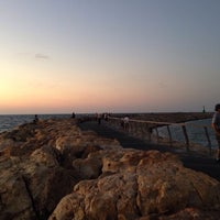 Photo taken at Tel Aviv Marina promenade by Tal R. on 9/26/2013
