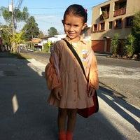 Photo taken at Kinder Guiselle Gonzalez by Melissa P. on 3/20/2013