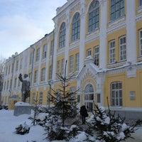 Photo taken at Казанский Государственный Аграрный Университет by Данил З. on 1/15/2013