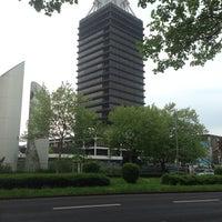 Photo taken at Deutschlandfunk Funkhaus Köln by Oliver B. on 4/24/2014