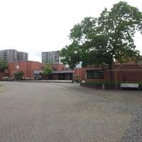 Photo taken at Ökumenisches Gemeindezentrum Pilgerpfad by Florian V. on 5/27/2014
