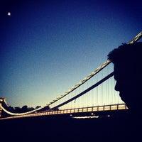 Photo taken at Clifton Suspension Bridge by Denisse V. on 5/20/2013