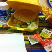 Photo taken at Burger King by Göknur K. on 2/20/2013