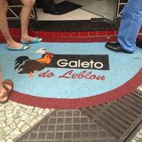 Photo taken at Galeto do Leblon by Edneide C. on 3/17/2013