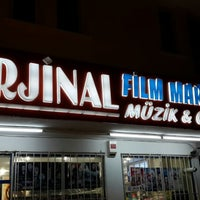Photo taken at Orjinal Film Market by Alpay U. on 7/17/2014