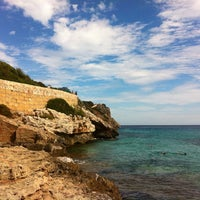 Photo taken at Cala Romantica by Maria K. on 9/30/2013