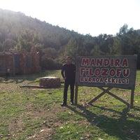 Photo taken at Mandıra Filozofu Koyu by Rahmi I. on 3/17/2017