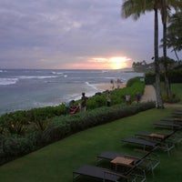 Photo taken at Ko'a Kea Hotel & Resort by Lissa L. on 4/14/2013