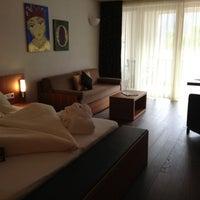 Das Foto wurde bei Dolce Vita Hotel Lindenhof von fabian e. am 4/28/2013 aufgenommen