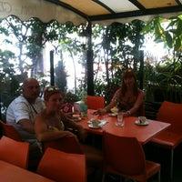 Photo taken at Caffe Al Gabbiano by Vladimir T. on 6/23/2013