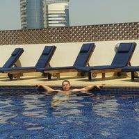 Photo taken at Pool Citymax Bur Dubai Hotel by Юрий Т. on 6/20/2013