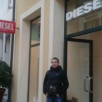 Photo taken at Diesel by Юрий Т. on 1/23/2013