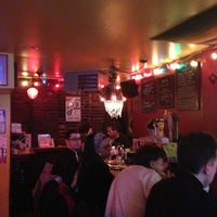 Photo taken at Great Jones Cafe by Marc S. on 1/26/2013