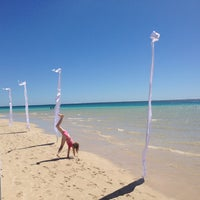 Photo taken at Ningaloo Coral Bay Beach by Bry B. on 10/10/2013