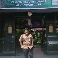 Photo taken at Luta Resort Toraja by Sandy G. on 1/25/2014