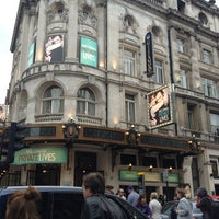 Photo taken at Gielgud Theatre by Rose D. on 6/27/2013