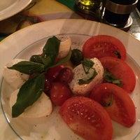 Photo taken at Pizza Mezzaluna by Andrea M. on 10/31/2014