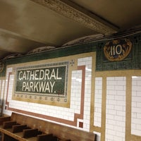 Photo taken at MTA Subway - Cathedral Pkwy/110th St (1) by Andrea M. on 8/25/2013