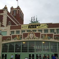 Photo taken at Asbury Park Boardwalk by Andrea M. on 7/25/2013