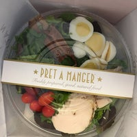 Photo taken at Pret A Manger by Andrea M. on 3/16/2017