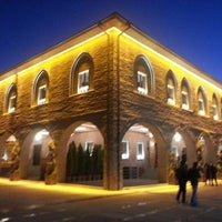 Photo taken at Hacı Bayram-ı Veli Camii by İbrahim A. on 2/12/2013