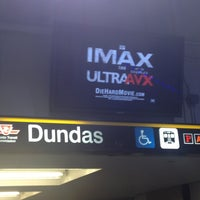 Photo taken at Dundas Subway Station by Anthony D. on 2/14/2013